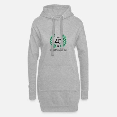 Motto 50 - 40 plus tax - Women's Hoodie Dress