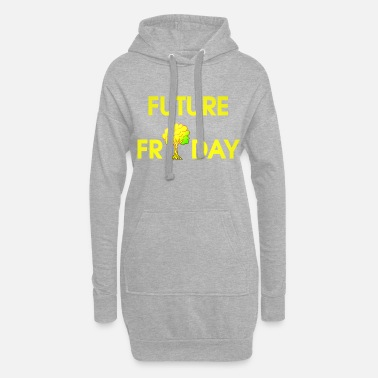 Movement Future Friday Environment Protest Movement Movement - Vrouwen hoodie jurk