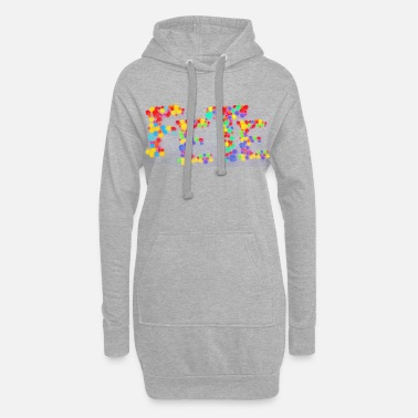 Emotion Party - Women's Hoodie Dress