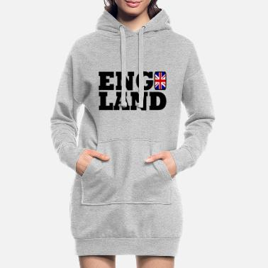 England England - Women's Hoodie Dress