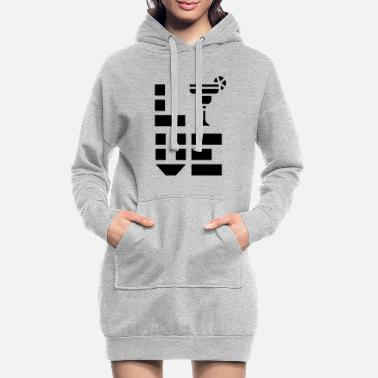 Coctail Drinking Coctails - Women's Hoodie Dress