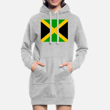 Jm I jm flag png black 531901dfe61ce470a4f2953b7ad949 - Women's Hoodie Dress
