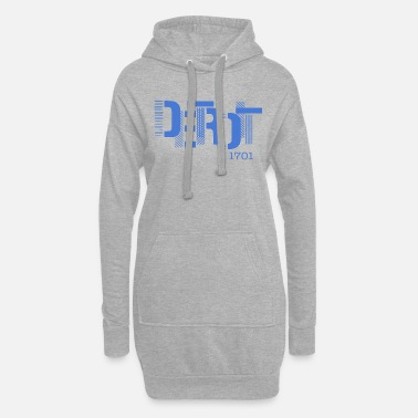 Detroit Detroit street art - Women's Hoodie Dress