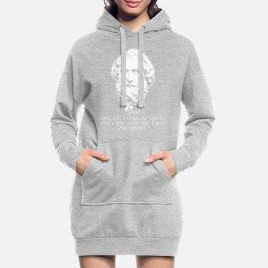 Marquer Move The Earth Mathématicien grec Archimède - Robe sweat Femme