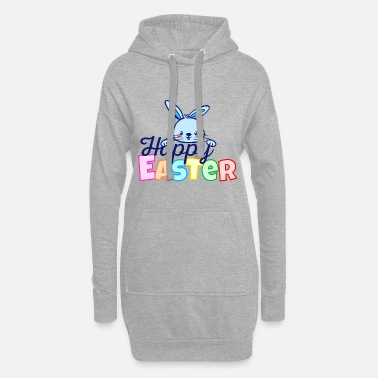 Easter Bunny Happy Easter Easter Bunny Easter Bunny Sayings - Women's Hoodie Dress