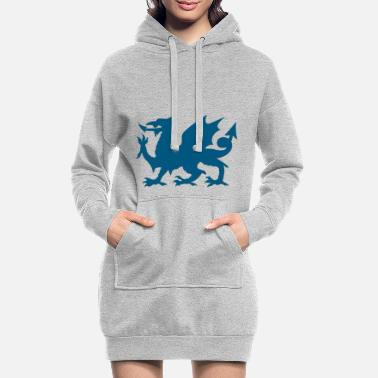 Dragon - Dragon - Women's Hoodie Dress