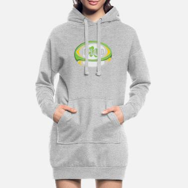 Rugby Ireland Rugby product - Irish Flag Rugby Football - Women's Hoodie Dress