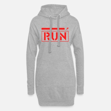 Running Running - jogging, running, marathon - Women's Hoodie Dress