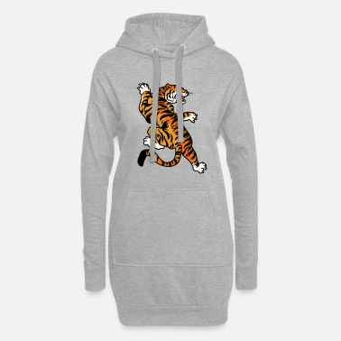 Japan Tiger art Japan - Women's Hoodie Dress