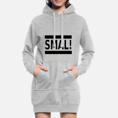 Lille lill - Hoodie kjole dame