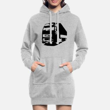 Volvo lorry - Women's Hoodie Dress