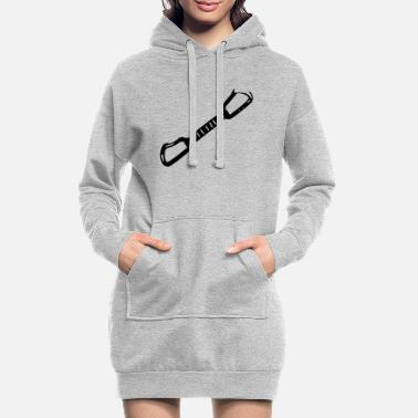express loop - Women's Hoodie Dress