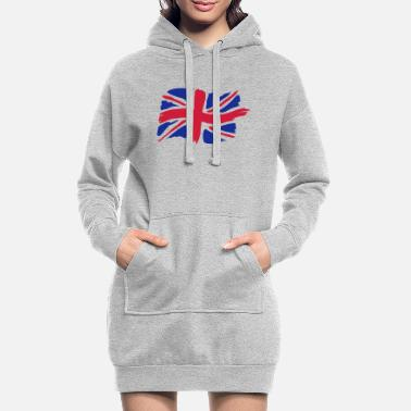 unionjackbrush - Women's Hoodie Dress