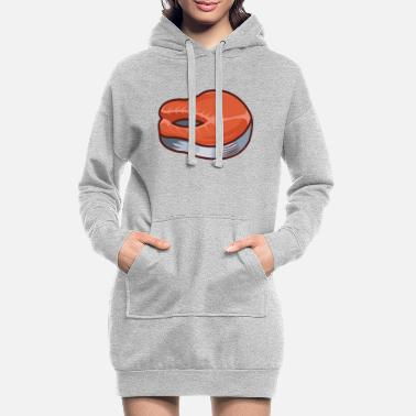 Fillette Filet de saumon - Robe sweat Femme