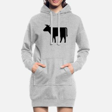 cow - Women's Hoodie Dress