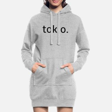 tokio -. Japan - Urban - Style - Women's Hoodie Dress