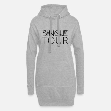Célibataire Simple: Simple tour - Robe sweat Femme