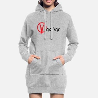 vaping - Women's Hoodie Dress