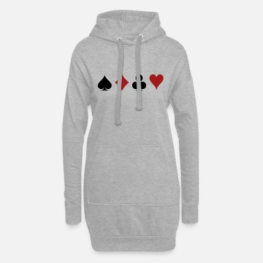 Cards cards - Robe sweat Femme