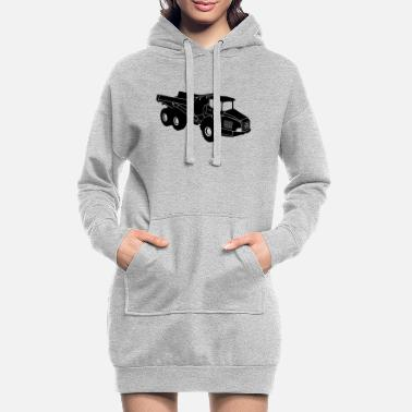 Volvo dumper - Women's Hoodie Dress
