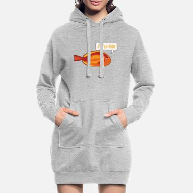 Jm JM IN FISH 2 - Women's Hoodie Dress