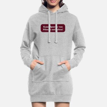 Feet Underwear Nuts - Allergy - Sexy - Women's Hoodie Dress