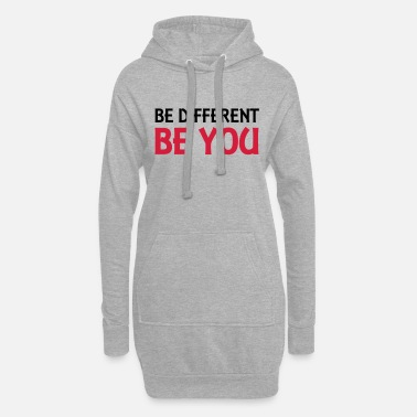 Be You Be different - be you - Vestito felpa donna