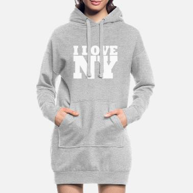 Ny NY - NYC - NEW YORK - J'aime NY - J'aime NY - Robe sweat Femme
