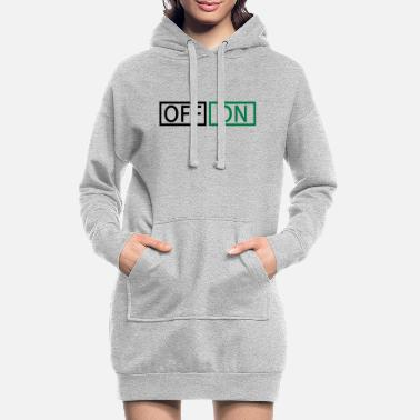Off off on - Robe sweat Femme