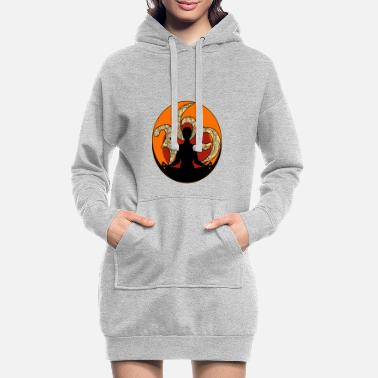 New Age New Age - Hoodie kjole dame