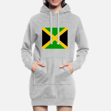 Jm Flag of Jamaica (jm) - Women's Hoodie Dress