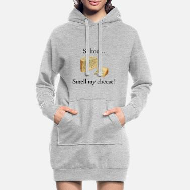 Smell My Cheese Smell My Cheese - Women's Hoodie Dress