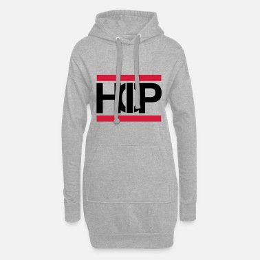 Hip Old School Hip Hop Text Scripture Gift - Women's Hoodie Dress