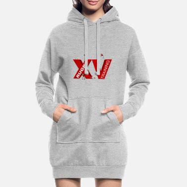 Lyon Rugby Toulousain XV TRAINING - Women's Hoodie Dress