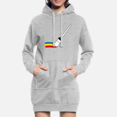 Painter Painter | Painter | Painter painter - Women's Hoodie Dress