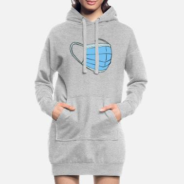 Mask for everyone - Women's Hoodie Dress