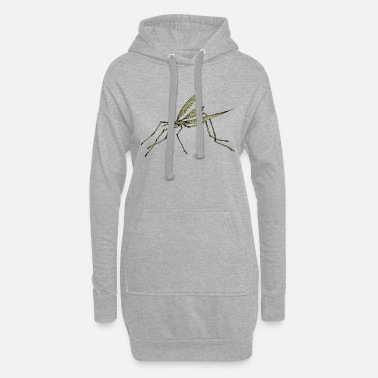 Insect Mosquito - Women's Hoodie Dress