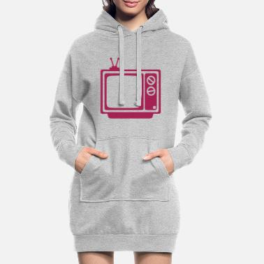 Tv tv tv tv - Women's Hoodie Dress