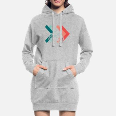 Roue Roues roues - Robe sweat Femme