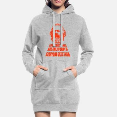 Karl communist joke gift - Women's Hoodie Dress