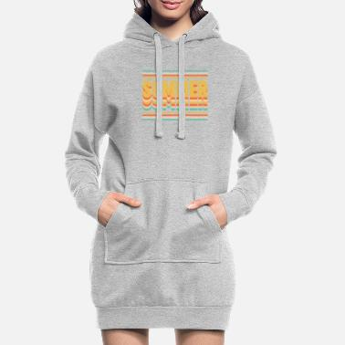 Summer SUMMER SUMMER SUMMER - Women's Hoodie Dress