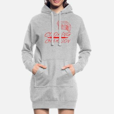 Roi Du Barbecue Champion de cuisine - Robe sweat Femme
