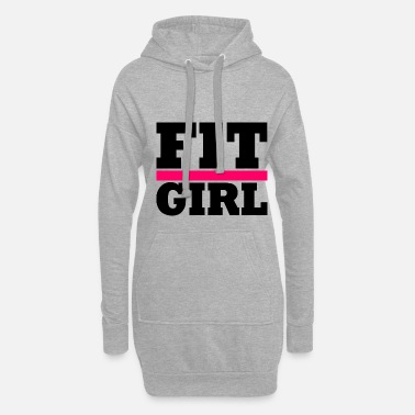 Workout FIT GIRL - Robe sweat Femme
