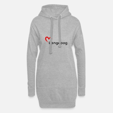 Lighthouse A heart for Langeoog - Women's Hoodie Dress