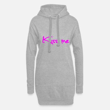 Easy Kiss me - Women's Hoodie Dress