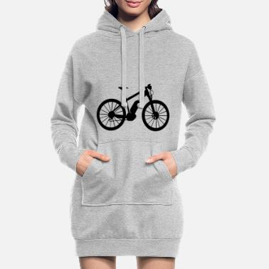 Bike Ebike e-bike bike bike avec batterie - Robe sweat Femme