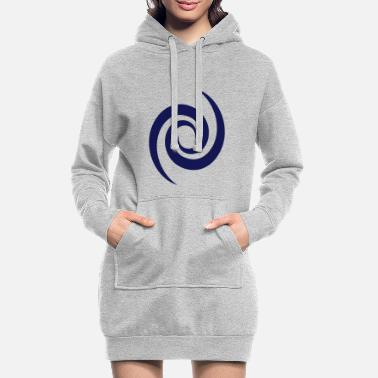 Spiral galaxy, space, universe, cosmos, swirl - Women's Hoodie Dress