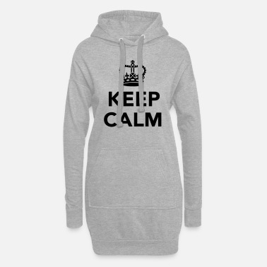 Keep Calm Keep calm - Vestito felpa donna