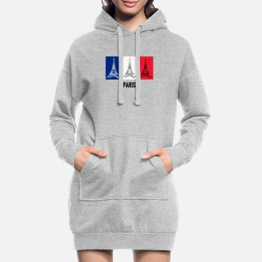 PARIS Eiffel Tower Europe - Women's Hoodie Dress