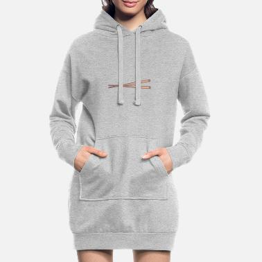 Stick Stick - Women's Hoodie Dress